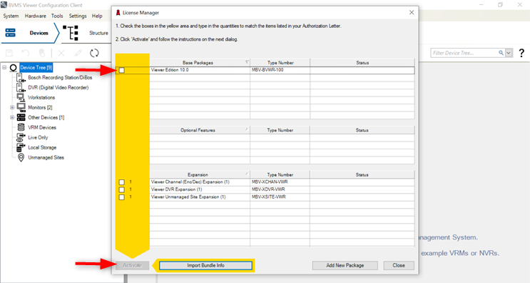 2_How to retrieve hardware ID for BVMS and check SMA status.png