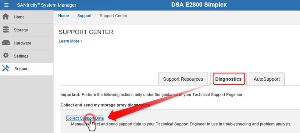 4_How to download the support bundle file for DSA E2800.png