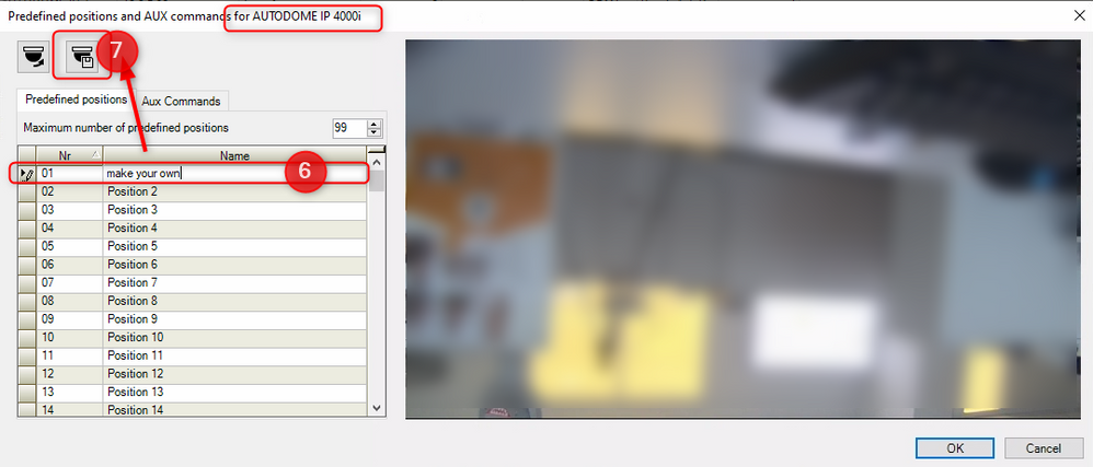 2_create PTZ presets and placeholders in Bosch Video Management System (BVMS).png