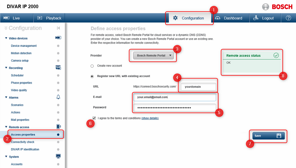 1_How to configure DIVAR IP 2000- 5000 to be accessed through the Video Security App via Bosch Remote Portal.png