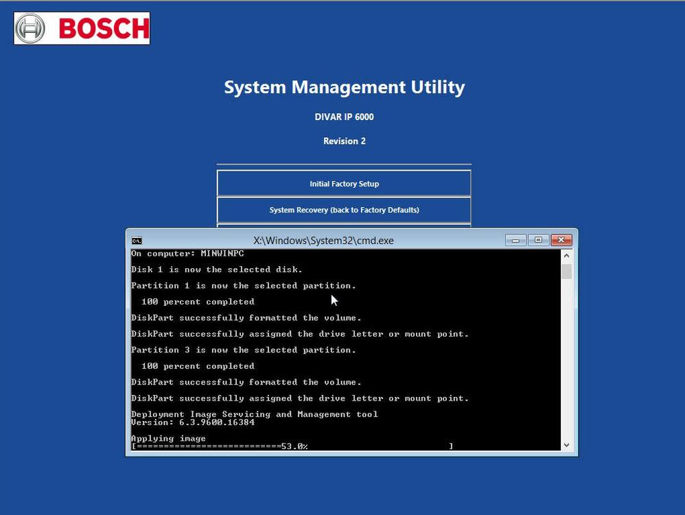 3.upgrade DIVAR IP 6000 7000 R2 to the latest Image Version via USB Boot Medium.png
