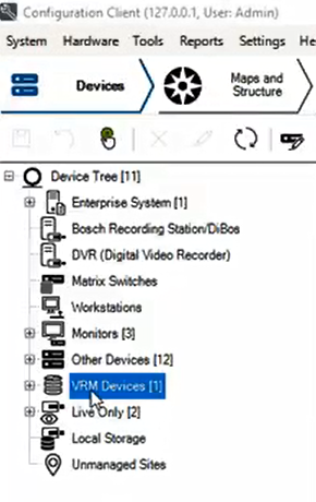 1_How to configure Motion Recording for nights and weekends in Bosch Video Management System (BVMS).png