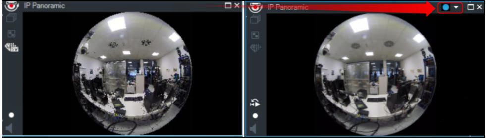 4_How to switch the viewing mode of panoramic camera in Operator Client.png