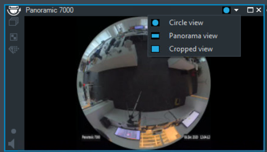 5_How to switch the viewing mode of panoramic camera in Operator Client.png