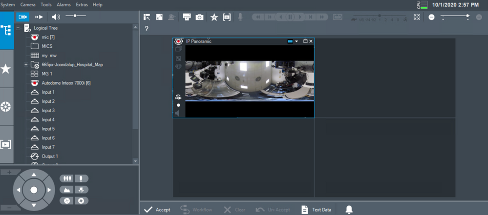 9_How to switch the viewing mode of panoramic camera in Operator Client.png