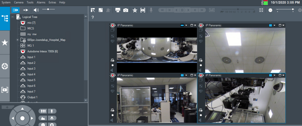 11_How to switch the viewing mode of panoramic camera in Operator Client.png