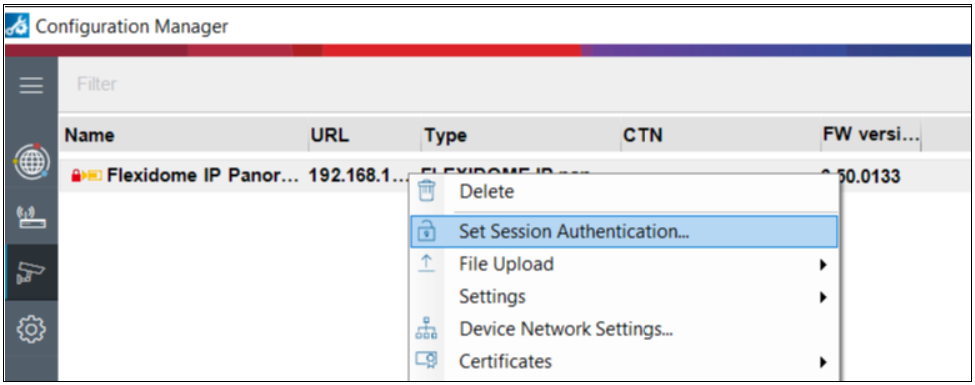 2_VCA Authorization required message is displayed in Configuration Manager.png