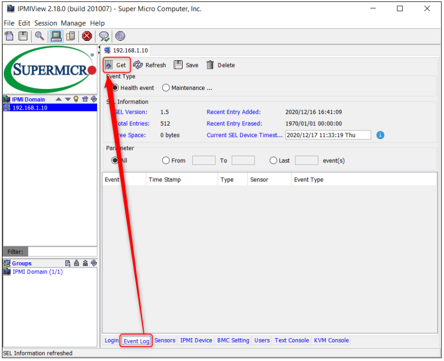 8_How to remotely view and collect the system's event log through IPMI (Intelligent Platform Management Interface).png