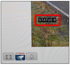 What does status 9 mean on the MIC IP ultra 7100i - MIC IP starlight 7100i camera's web page.png