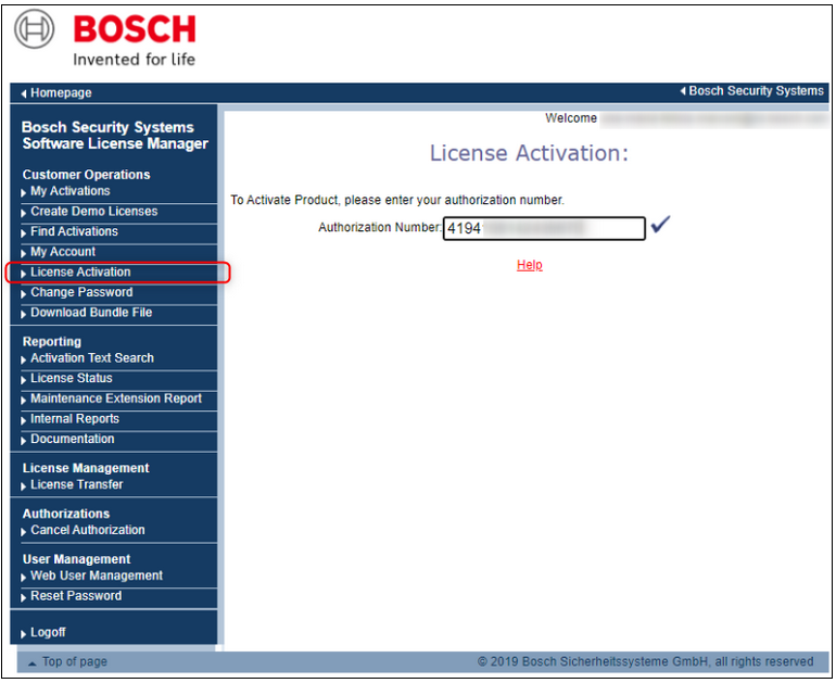 1_How to license a Bosch camera.png
