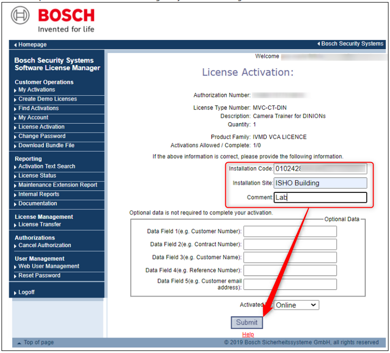 2_How to license a Bosch camera.png