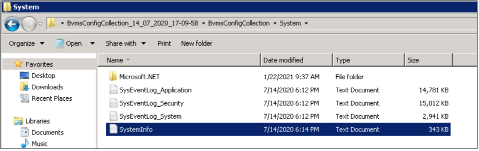 6_How to get the BVMS Configuration Collection Logs of the system.png