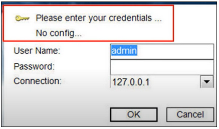 1. How to fix the No Config message displayed in BVMS Operator Client.png