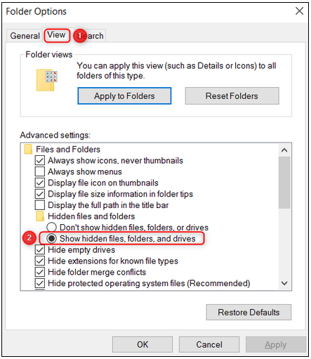 4 How to fix the No Config message displayed in BVMS Operator Client.png