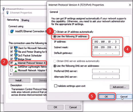 3_How to assign IP address to a DIVAR IP 7000- 6000 through haneWIN DHCP server software.png