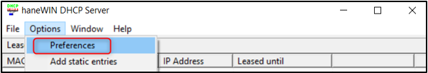 8_How to assign IP address to a DIVAR IP 7000- 6000 through haneWIN DHCP server software.png