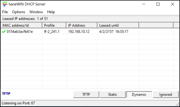 12_How to assign IP address to a DIVAR IP 7000- 6000 through haneWIN DHCP server software.png