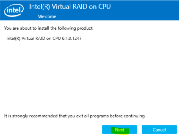 2 How to enable the Intel Utility for SSD monitoring on DIVAR IP all-in-one 7000.png