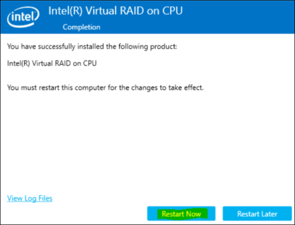 7 How to enable the Intel Utility for SSD monitoring on DIVAR IP all-in-one 7000.png