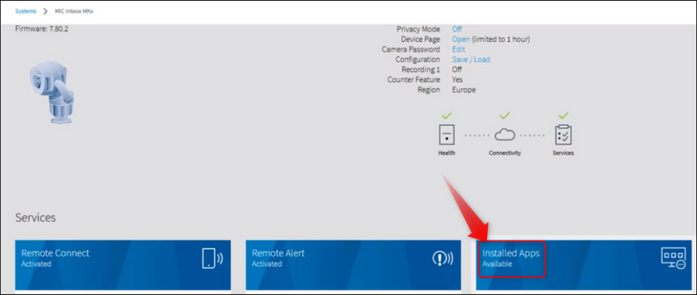 6 How to connect a Bosch INTEOX camera to S&ST using Configuration Manager.png