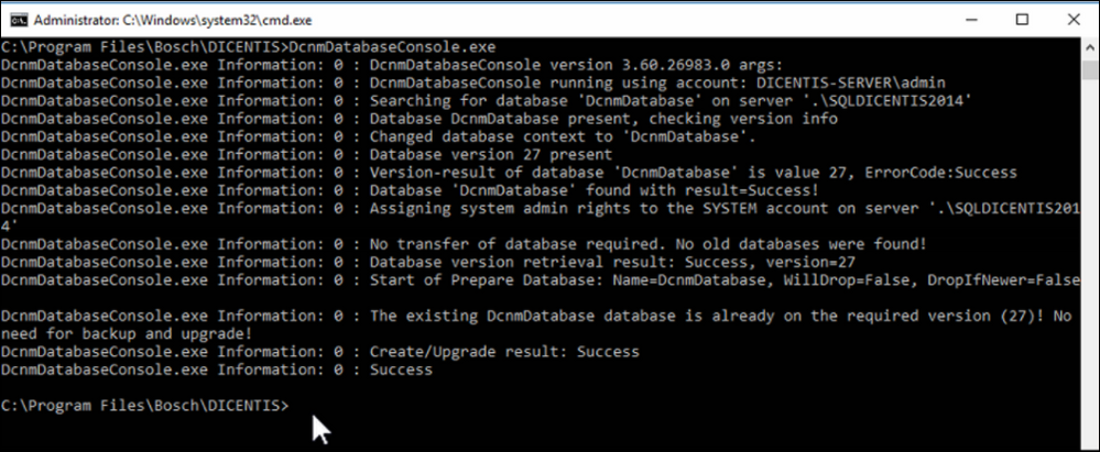 6 Microsoft SQL Database DICENTIS update, backup, restore and Microsoft .NET Framework related problems.png