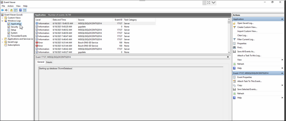 29 Microsoft SQL Database DICENTIS update, backup, restore and Microsoft .NET Framework related problems.png
