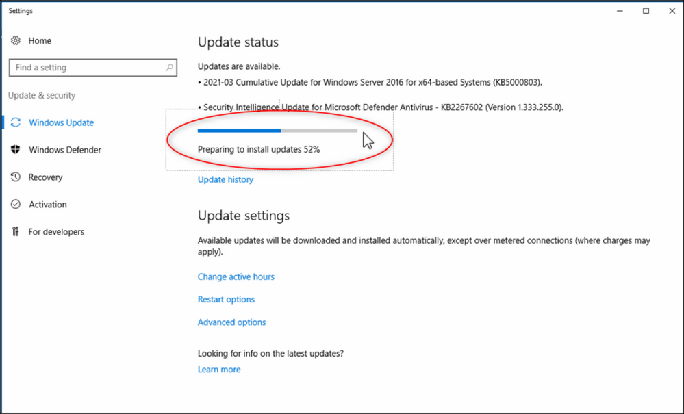 10 How to automatically update Windows Server 2016 for DICENTIS (online - with internet connection).png