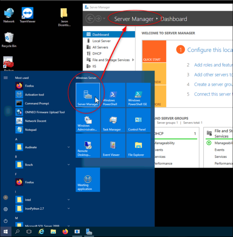1 How to extract the Microsoft Windows Server log file (Event Viewer) on DICENTIS Server.png