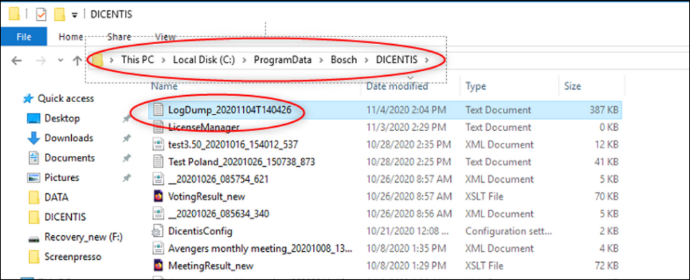 3 How to extract the LogDump file form DICENTIS Conference System (Server).png
