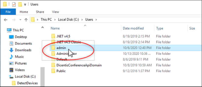 16 How to install DetectDevices on DICENTIS Server and Iron Pyton script for detecting connection problems.png
