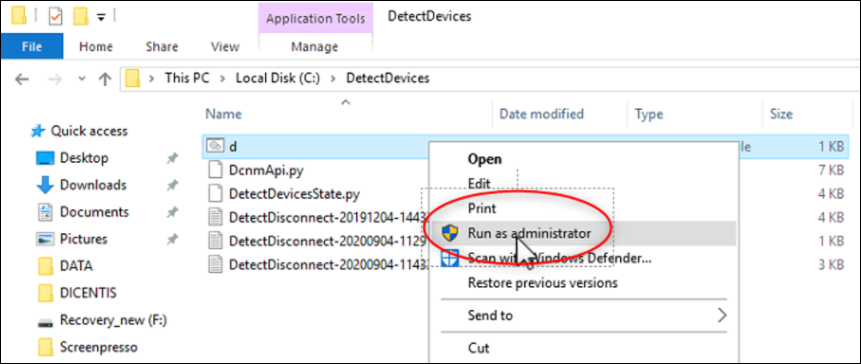 17 How to install DetectDevices on DICENTIS Server and Iron Pyton script for detecting connection problems.png