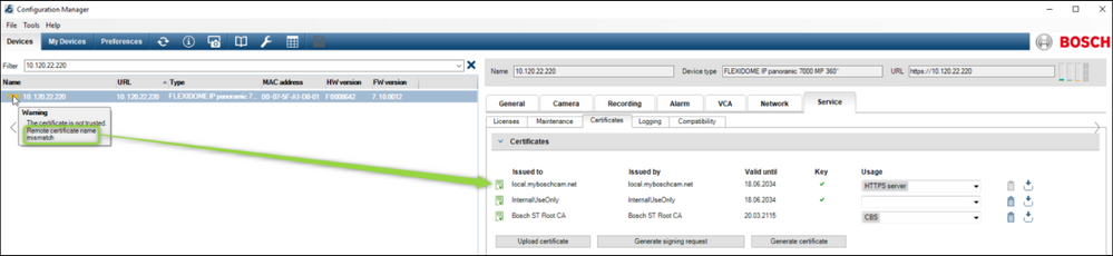 2 How to update Certificate on IP Camera's & VRM Servers.png